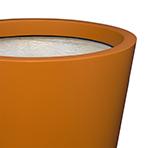 Pot de fleurs conique large - détail)