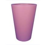 Pot de fleurs conique - couleur violet bruyère (RAL 4003)
