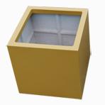 Bac à plantes carré - Hauteur 60 cm