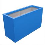Bac jardinière - couleur bleu clair (RAL 5012)