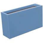 Bac jardinière - couleur bleu pastel (RAL 5024)