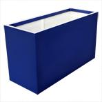 Bac jardinière - couleur bleu nocturne (RAL 5022)