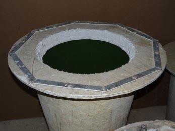 moule grand pot de fleurs conique