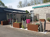Bacs à plantes pour aménager un espace extérieur