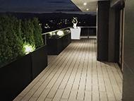 Bacs à plantes pour aménager un balcon